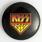 Kiss - 'Army Logo' Large Button Badge